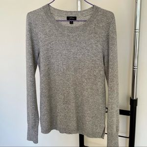 100% Cashmere sweater from J. Crew (Grey, XS)